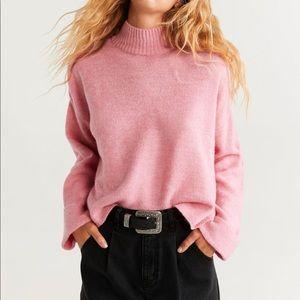Mango Sweaters - Mock Neck Sweater